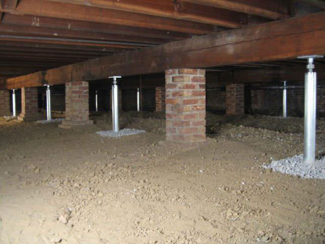 Crawl space joist repair by the greater boise area for What does crawl space foundation mean